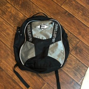 Easton softball bag. Used and has some stains